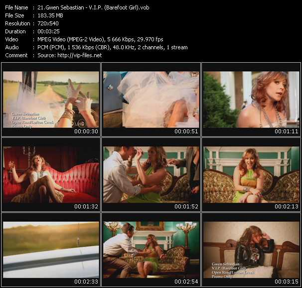 Gwen Sebastian video screenshot