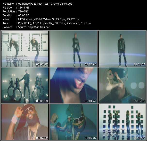 Range Feat. Rick Ross video screenshot