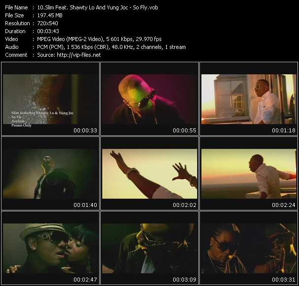 Slim Feat. Shawty Lo And Yung Joc video screenshot