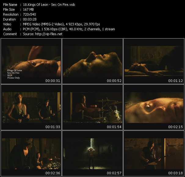 video Sex On Fire screen
