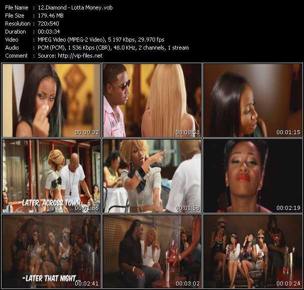 Diamond video screenshot