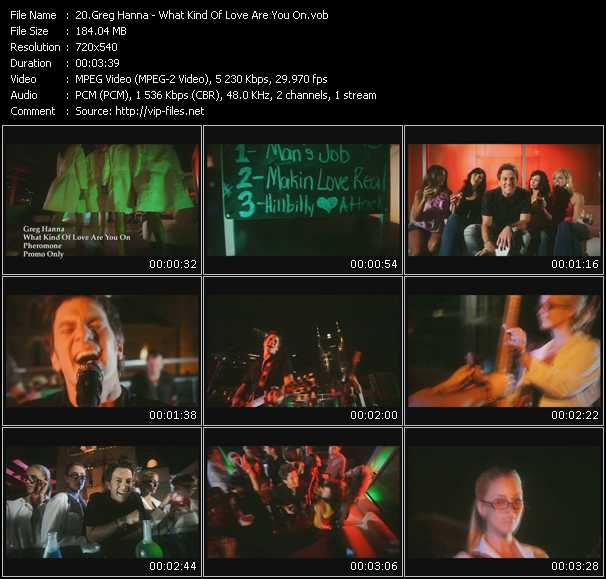 Greg Hanna video screenshot