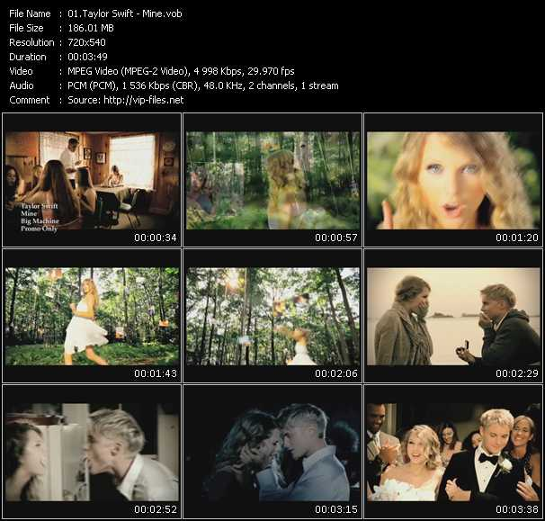 video Mine screen