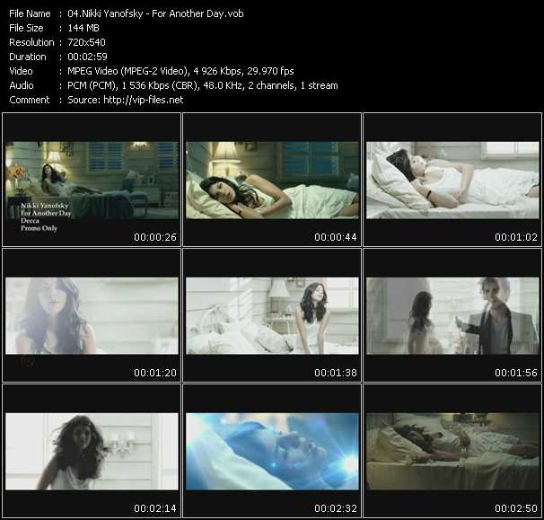 Nikki Yanofsky video screenshot