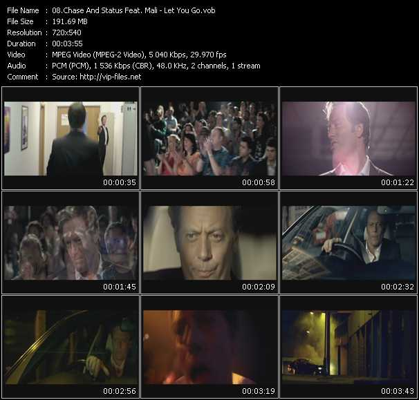 Chase And Status Feat. Mali video screenshot
