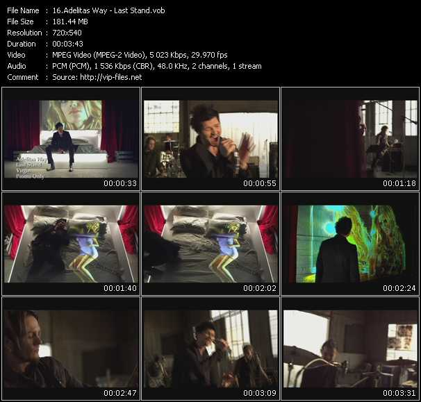 Adelitas Way video screenshot