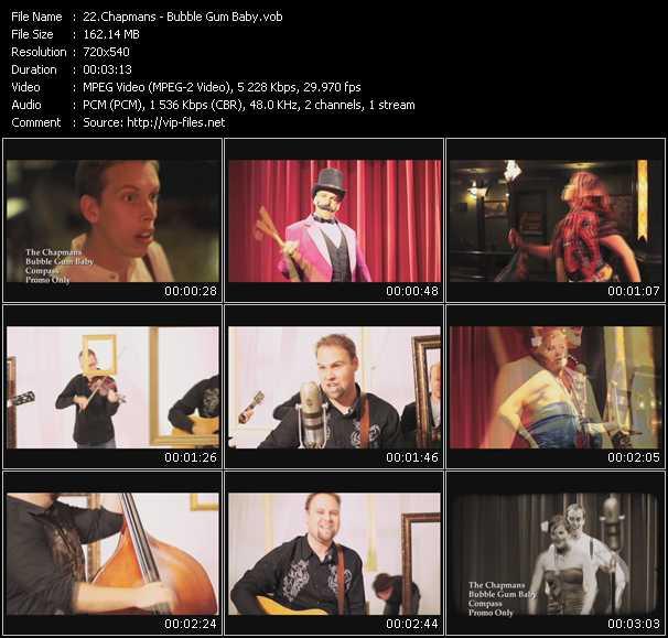 Chapmans video screenshot