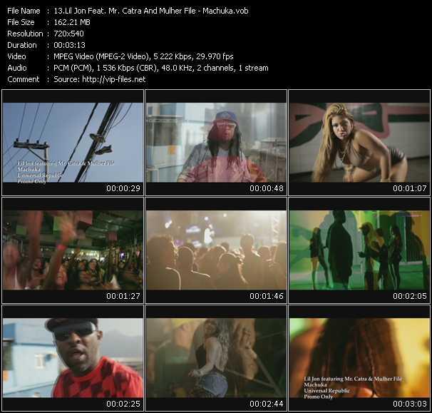 video Machuka screen