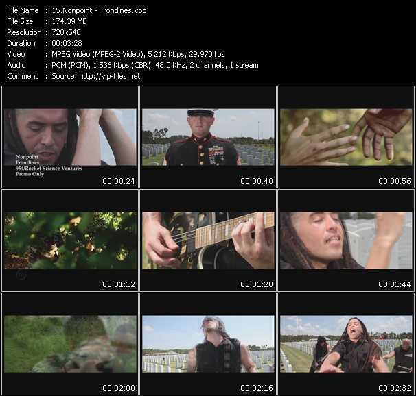Nonpoint video screenshot
