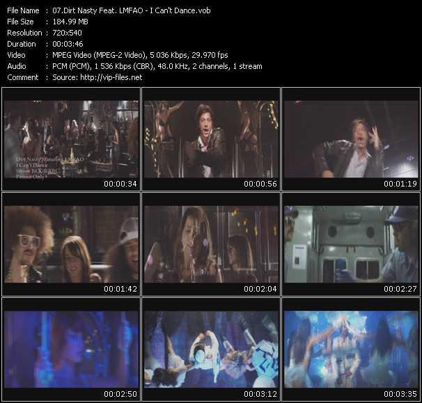 Dirt Nasty Feat. Lmfao video screenshot