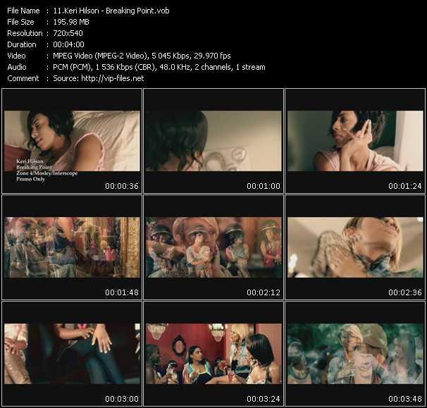video Breaking Point screen