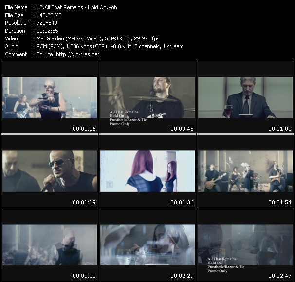 All That Remains video screenshot