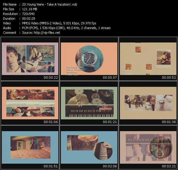 Young Veins video screenshot