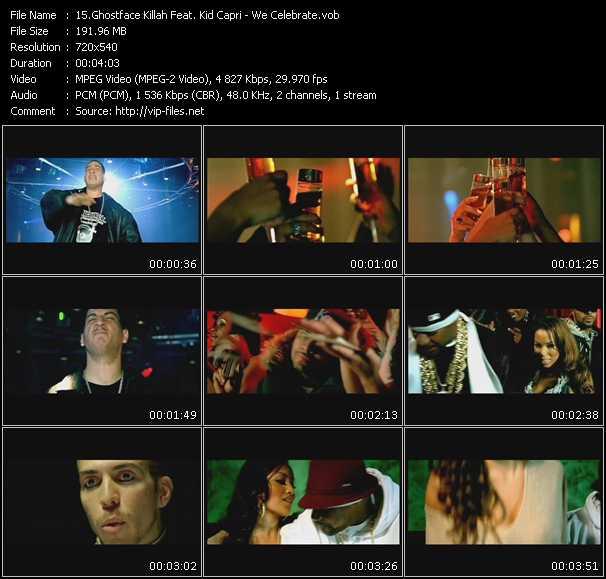 Ghostface Killah Feat. Kid Capri video screenshot