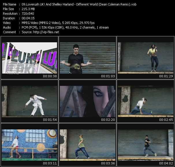 Loverush UK! And Shelley Harland video screenshot