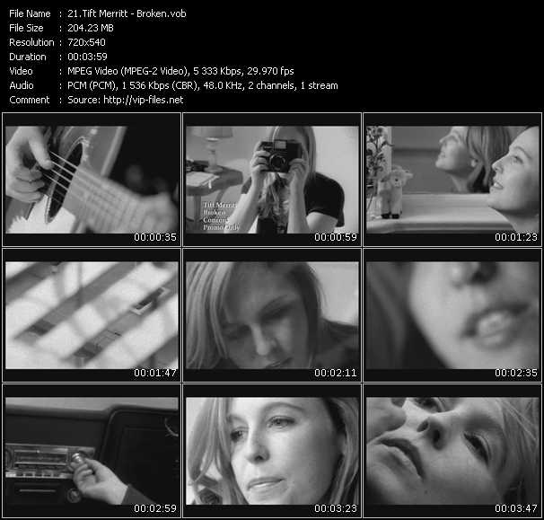 Tift Merritt video screenshot