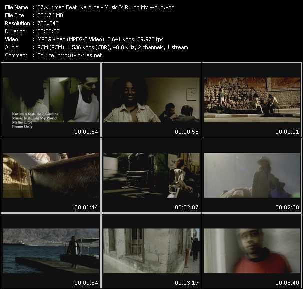 Kutiman Feat. Karolina video screenshot