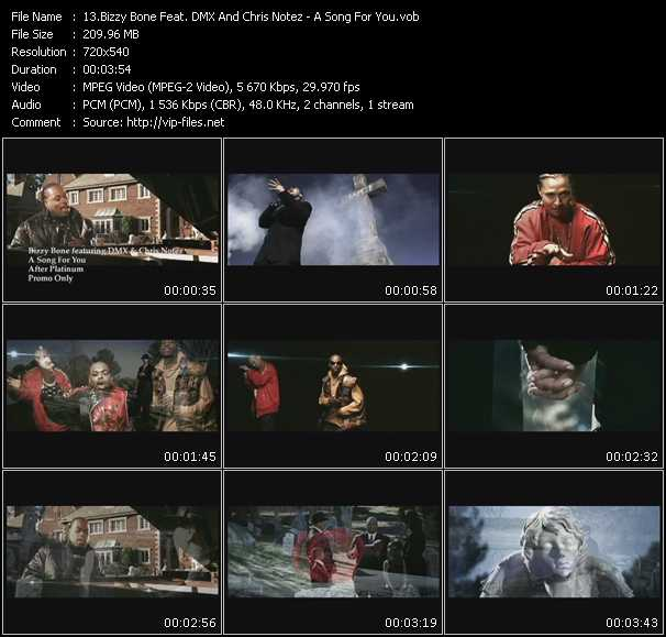 Bizzy Bone Feat. Dmx And Chris Notez video screenshot
