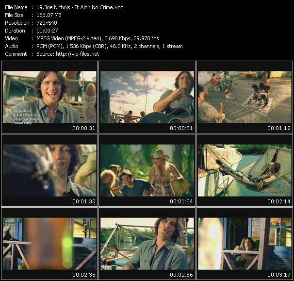 Joe Nichols video screenshot