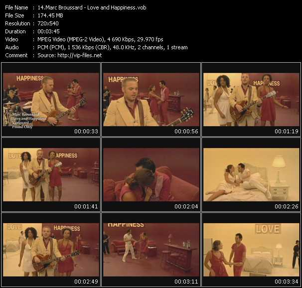 Marc Broussard video screenshot