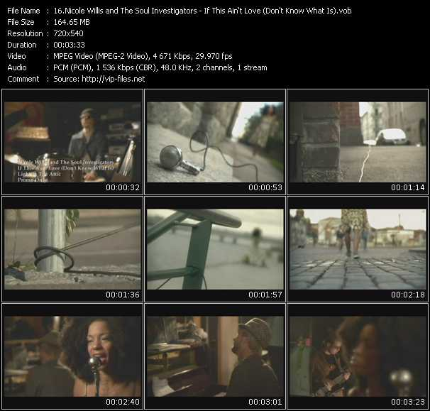Nicole Willis And The Soul Investigators video screenshot