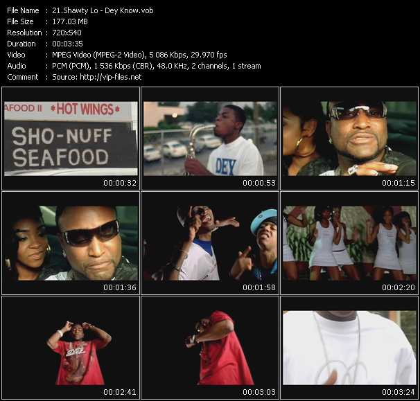 Shawty Lo video screenshot