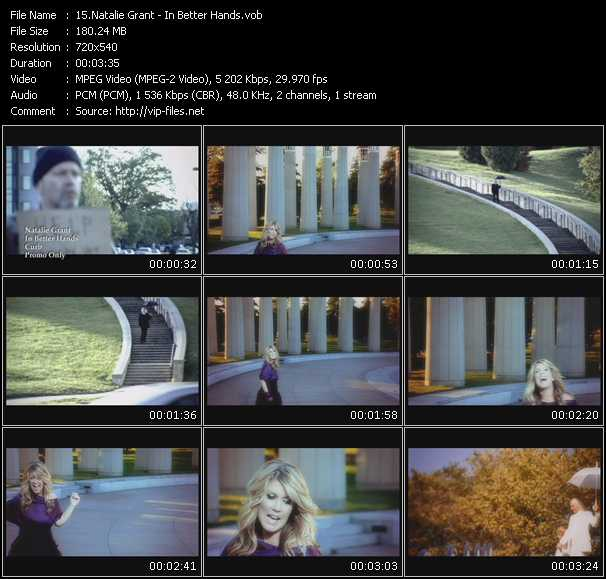 Natalie Grant video screenshot