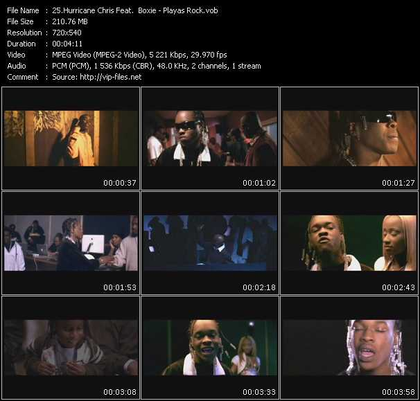 Hurricane Chris Feat. Boxie video screenshot