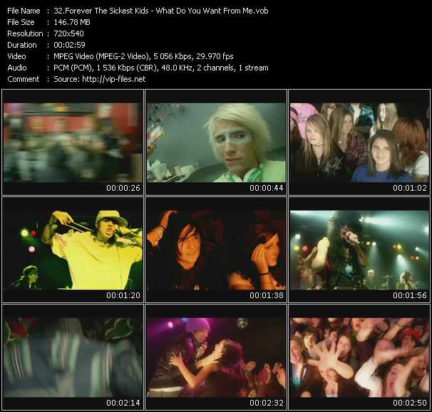 Forever The Sickest Kids video screenshot
