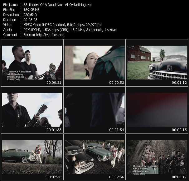 Theory Of A Deadman video screenshot