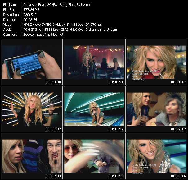 Kesha Feat. 3OH!3 video screenshot