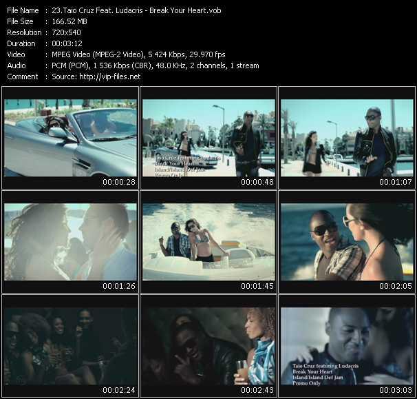 Taio Cruz Feat. Ludacris video screenshot