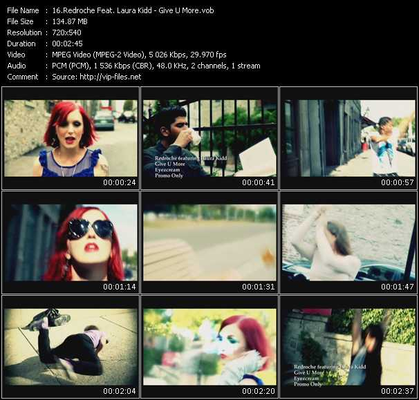 Redroche Feat. Laura Kidd video screenshot