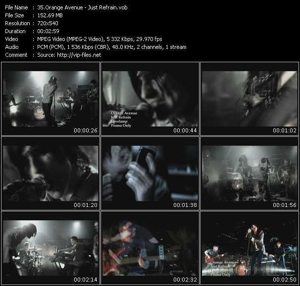 Orange Avenue video screenshot