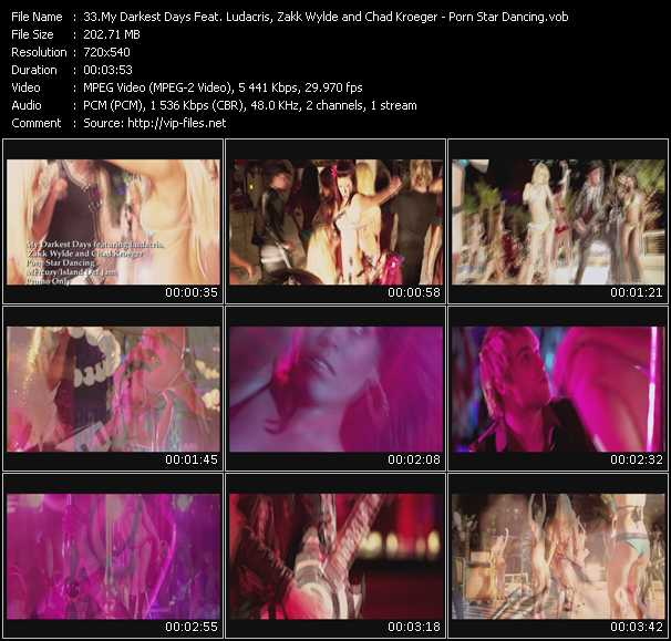 My Darkest Days Feat. Ludacris, Zakk Wylde And Chad Kroeger video screenshot