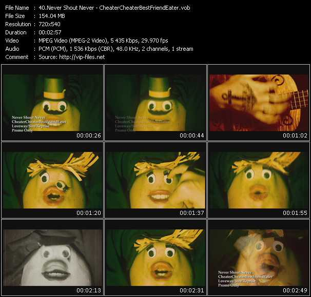 Never Shout Never video screenshot