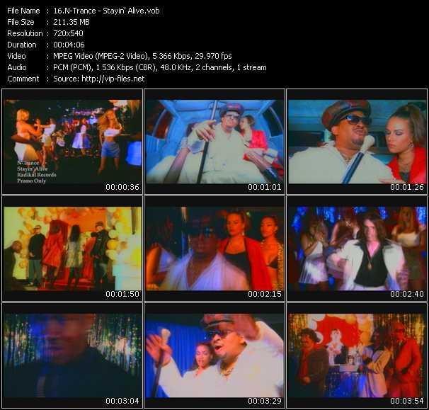 N-Trance Feat. Ricardo Da Force video screenshot