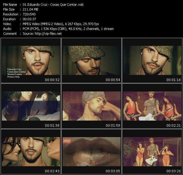 Eduardo Cruz video screenshot