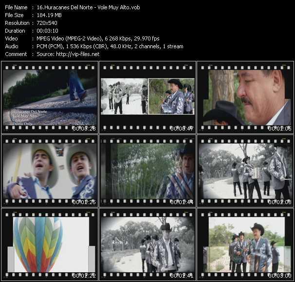 Huracanes Del Norte video screenshot