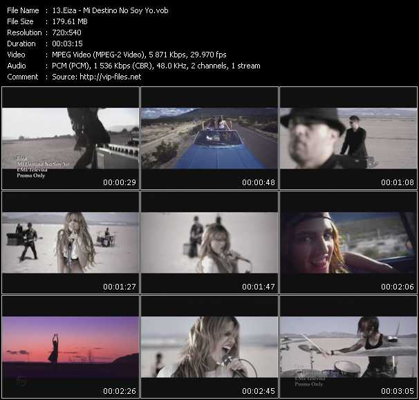 Eiza video screenshot