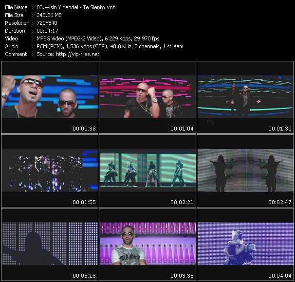 video Te Siento screen