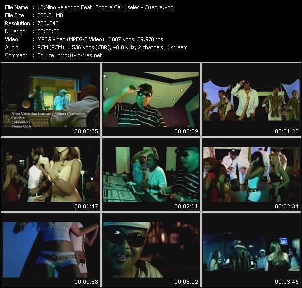 Nino Valentino Feat. Sonora Carruseles video screenshot