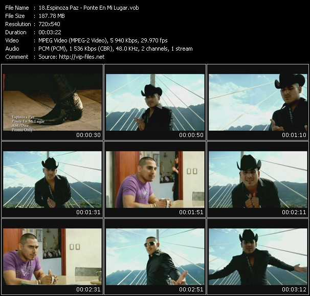 Espinoza Paz video screenshot