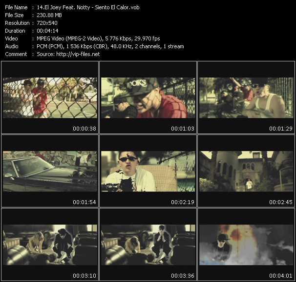 El Joey Feat. Notty video screenshot