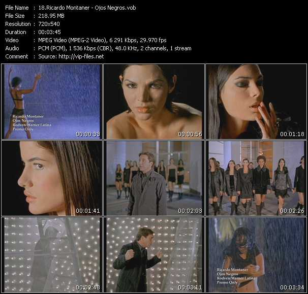 Ricardo Montaner video screenshot