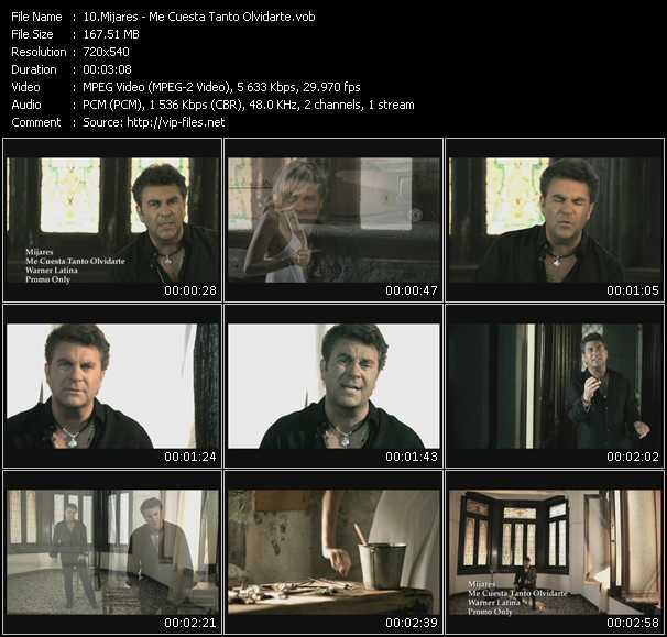 Mijares video screenshot