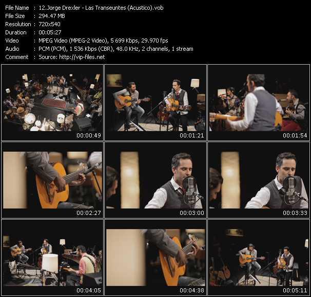 Jorge Drexler video screenshot