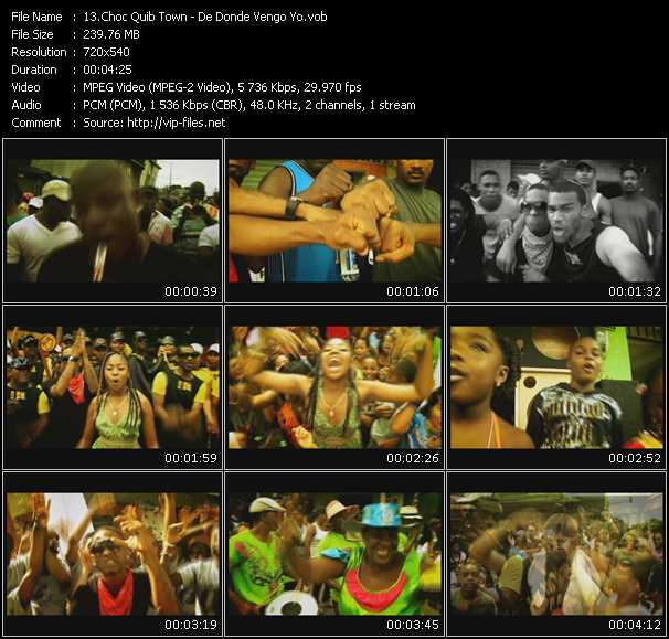 Choc Quib Town video screenshot