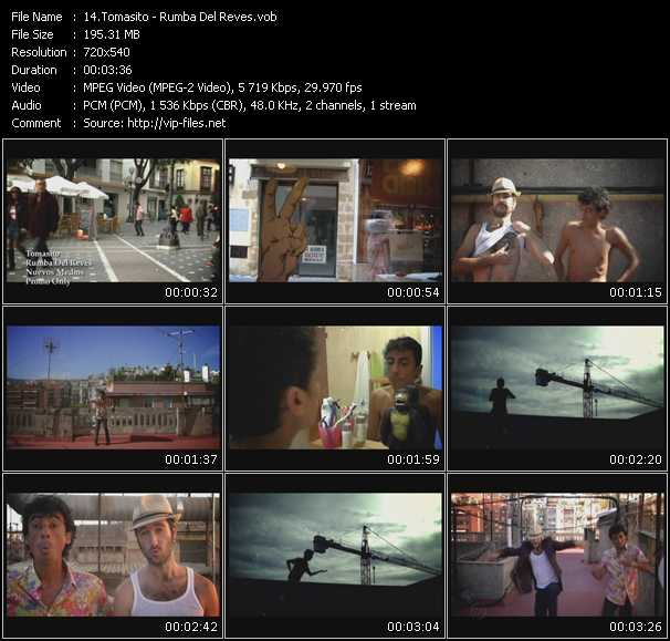Tomasito video screenshot