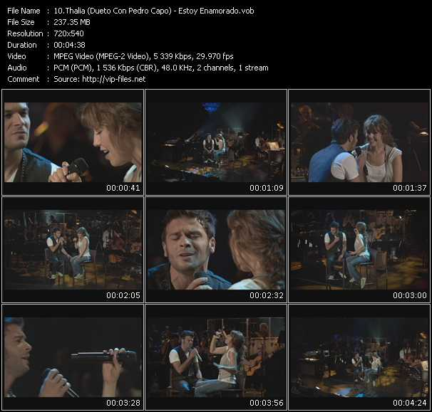 Thalia (Dueto Con Pedro Capo) video screenshot